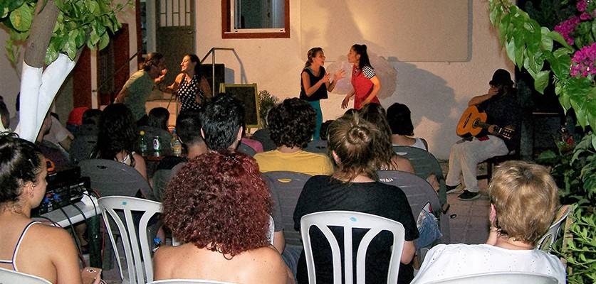 Photos of the 2nd day of the event of the Solidarity School
