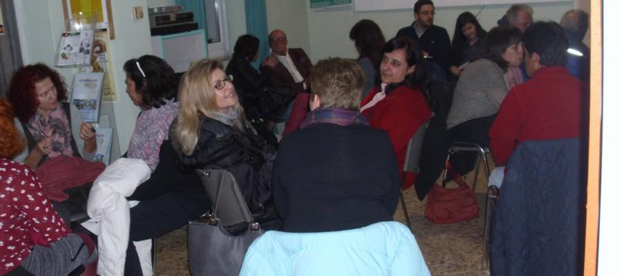Αλληλέγγυο Σχολείο: Φωτογραφίες από την πρώτη μέρα του διημέρου 31/3